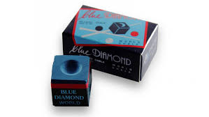 "Мелки для кия ""Blue Diamond"" (2 шт). Цвет синий."